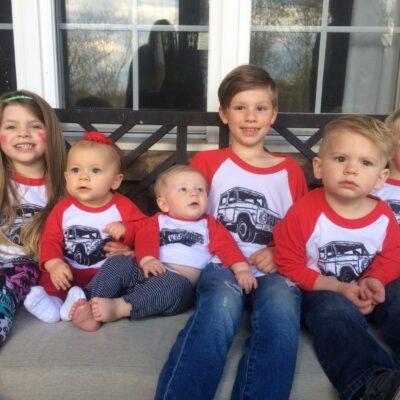 Kid's Bronco Baseball Shirt