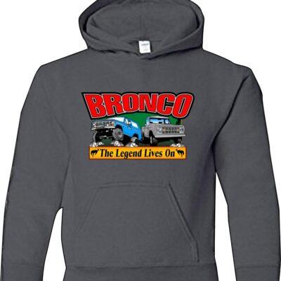 hoodie sweatshirt bronco