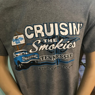 Cruisin' the Smokies T-shirt