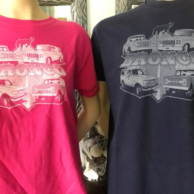 Kids Bronco Collage T- Shirt